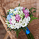Свадебные цветы ручной работы. Заказать Букет невесты / Свадебный букет. Ежевика ● Флористика и декор. Ярмарка Мастеров.
