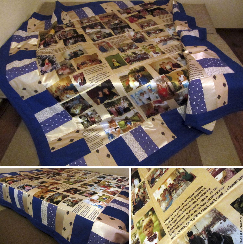 одеяло с вашими фотографиями всех жителей
