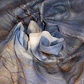 """Аксессуары ручной работы. Ярмарка Мастеров - ручная работа Шарф """"Вешние воды"""". Handmade."""