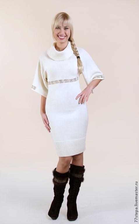 Платья ручной работы. Ярмарка Мастеров - ручная работа. Купить Платье вязаное 4398. Handmade. Платье, платье крючком