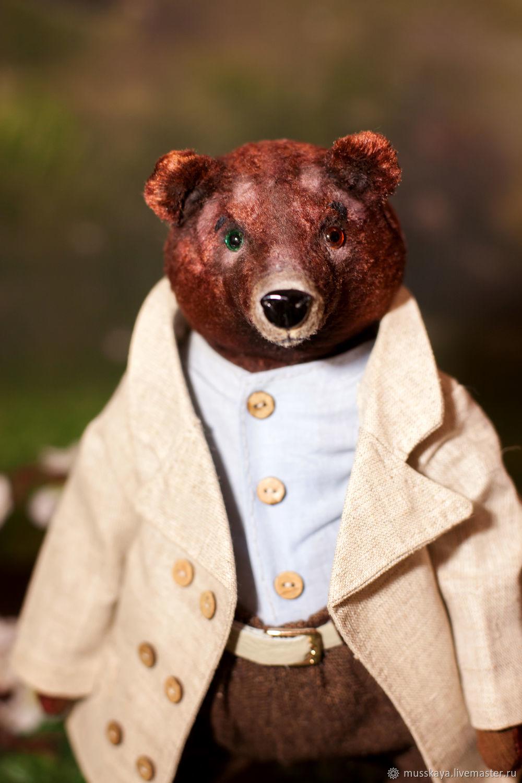 Мишка с разноцветными глазками Алекс 34 см, Мишки Тедди, Санкт-Петербург,  Фото №1