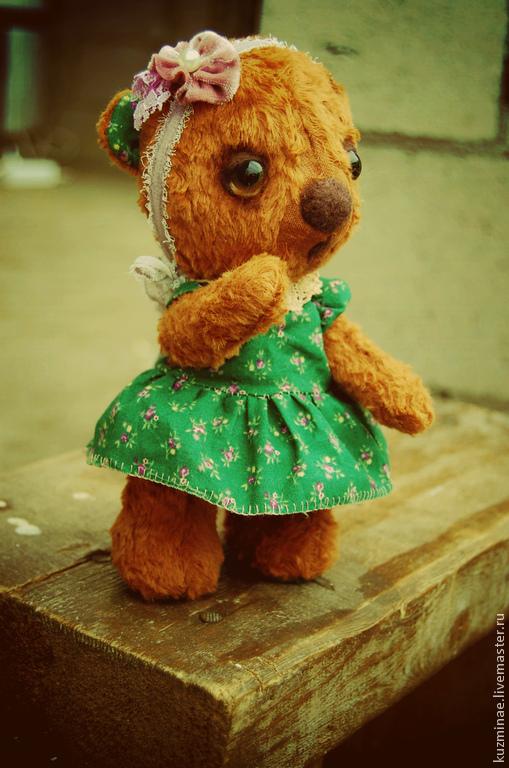 Мишки Тедди ручной работы. Ярмарка Мастеров - ручная работа. Купить Мишка Забава. Handmade. Коричневый, игрушка ручной работы
