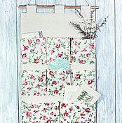 Цветы и флористика handmade. Livemaster - original item Pockets organizer module suspended storage. Handmade.