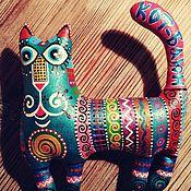Мягкие игрушки ручной работы. Ярмарка Мастеров - ручная работа Мягкие игрушки: Кот Баюн. Handmade.