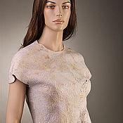 """Одежда ручной работы. Ярмарка Мастеров - ручная работа Платье ручной работы """"Розовая жемчужина"""". Handmade."""