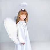 Работы для детей, ручной работы. Ярмарка Мастеров - ручная работа Рождественский Ангел (карнавальный костюм). Handmade.