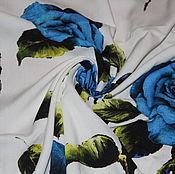 Ткани ручной работы. Ярмарка Мастеров - ручная работа Вискоза-стрейч с шелком Dolce&Gabbana.. Handmade.