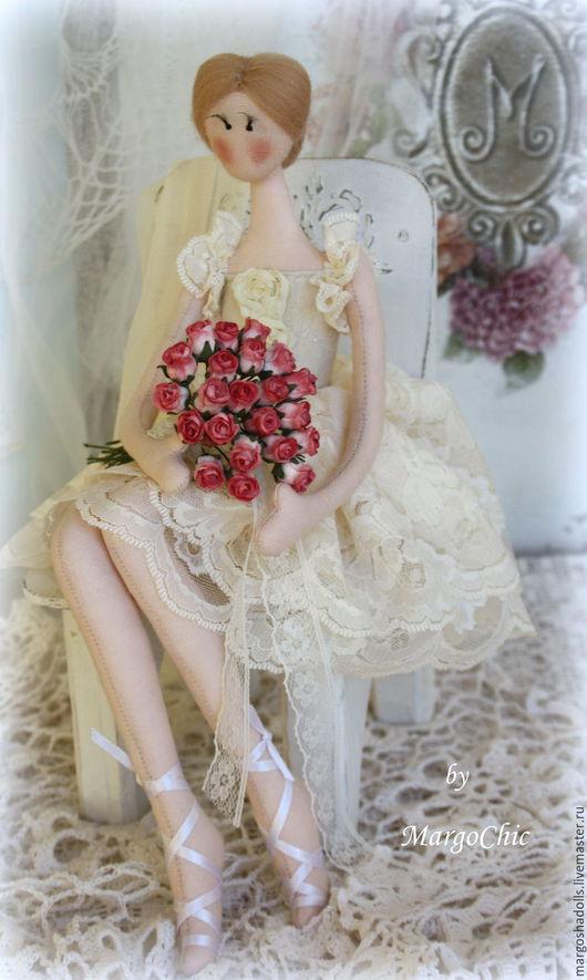 """Коллекционные куклы ручной работы. Ярмарка Мастеров - ручная работа. Купить Балерина""""Нежность"""". Handmade. Балерина, купить подарок, хлопок"""