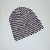 Аксессуары handmade. Livemaster - original item Elongated knitted wool hat,. Handmade.