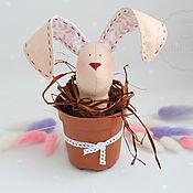 Пасхальный заяц в стиле Тильда