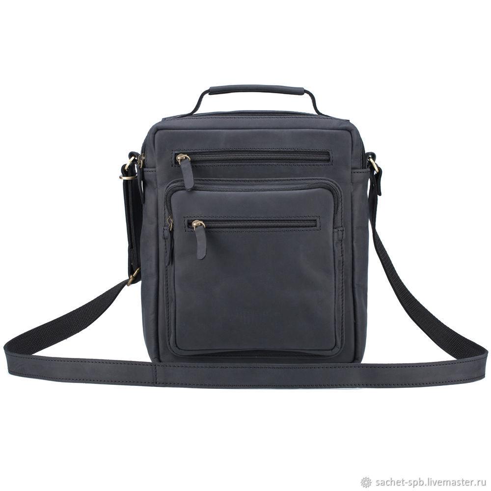 327ae8a5dfc6 Мужские сумки ручной работы. Ярмарка Мастеров - ручная работа. Купить  Кожаная сумка  Гектор ...