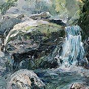 Картины и панно handmade. Livemaster - original item Waterfall. Handmade.