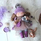 Куклы и игрушки ручной работы. Ярмарка Мастеров - ручная работа Текстильная куколка Лила.. Handmade.