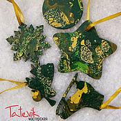 Подарки к праздникам handmade. Livemaster - original item Set of Christmas ornaments