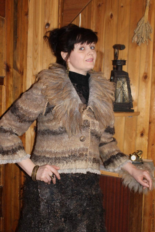 Jacket 'Pinstripes', Outerwear Jackets, Gorodok,  Фото №1