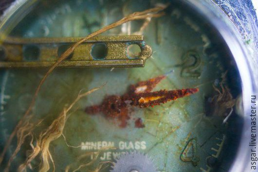 Кулоны, подвески ручной работы. Ярмарка Мастеров - ручная работа. Купить Подводные миры в корпусе старых наручных часов.. Handmade.