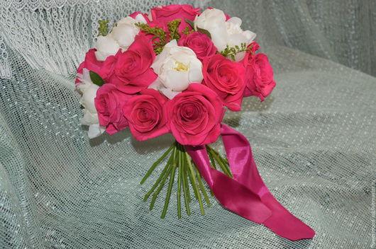 Букет невесты нежность (flowermood-art)