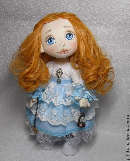 Коллекционные куклы ручной работы. Ярмарка Мастеров - ручная работа. Купить Алиса. Текстильная кукла. Авторская кукла. Интерьерная кукла. Handmade.