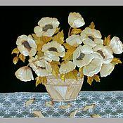 """Картины и панно ручной работы. Ярмарка Мастеров - ручная работа Экопанно """"Цветы весны"""". Handmade."""