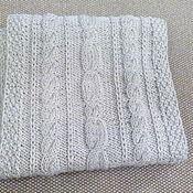 Аксессуары ручной работы. Ярмарка Мастеров - ручная работа шарф с косами. Handmade.