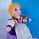 Кукла-перевертыш - скромная Золушка. вязаные игрушки