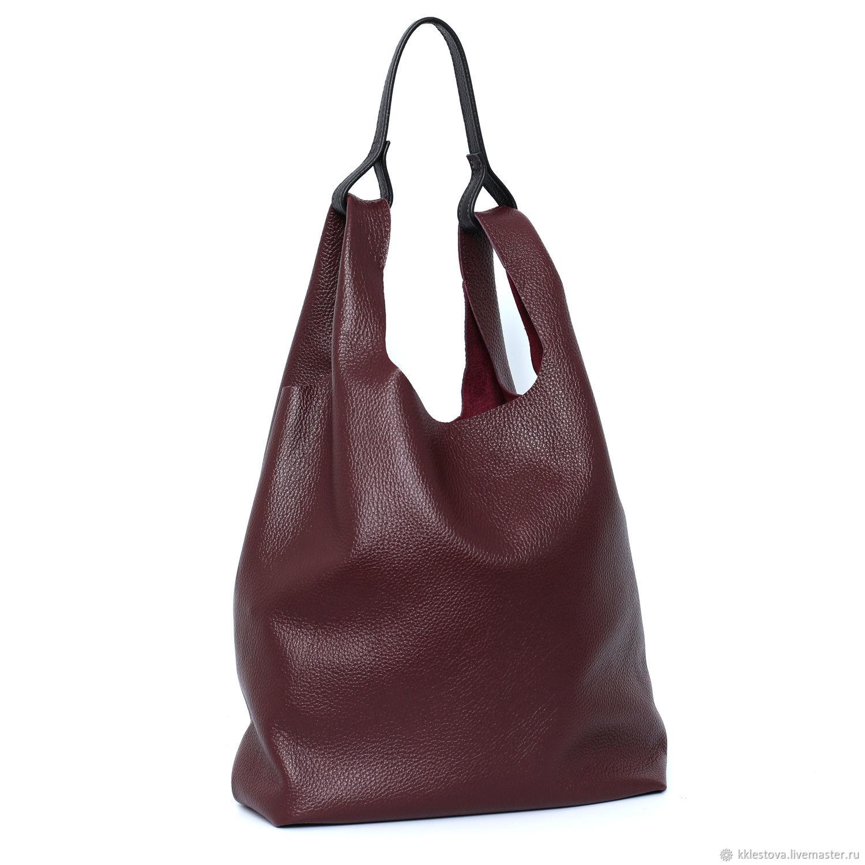 Handbags handmade. Livemaster - handmade. Buy Burgundy Marsala Bag Bag bag shopping Bag tank top medium shoulder.