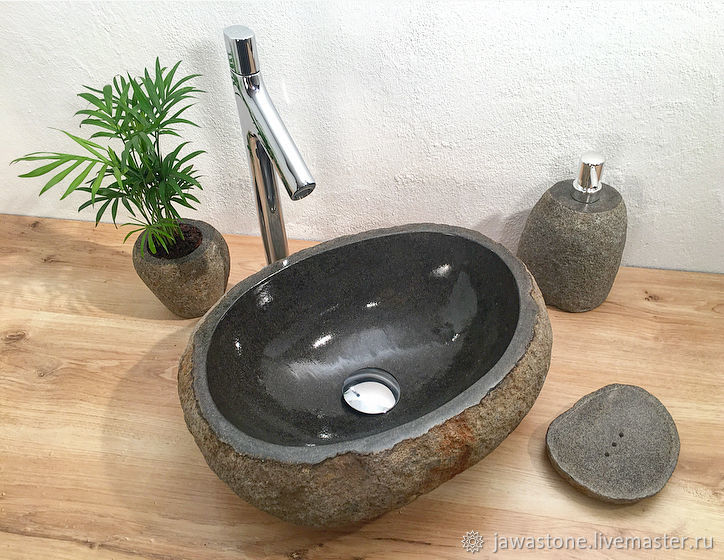 Раковина из речного камня, Мебель для бани и сауны, Самара,  Фото №1