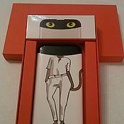 Сувениры и подарки handmade. Livemaster - original item Packaging for charger, phone. Handmade.