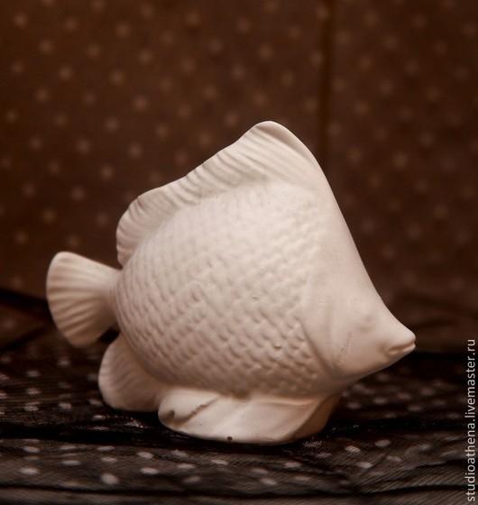 Декупаж и роспись ручной работы. Ярмарка Мастеров - ручная работа. Купить рыбка. Handmade. Белый, гипс, гипсовые фигурки