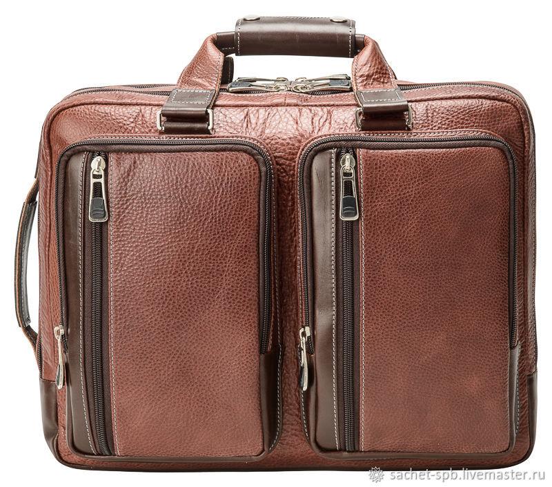 Men's backpack Ford (brown), Men\'s bag, St. Petersburg,  Фото №1