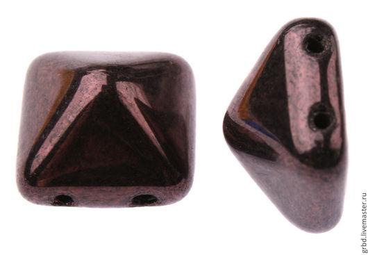 Для украшений ручной работы. Ярмарка Мастеров - ручная работа. Купить Чешская бусина-пирамидка pyramid 12mm LE23980. Handmade.