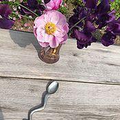 Винтаж handmade. Livemaster - original item Designer spoon, tin, Holland. Handmade.