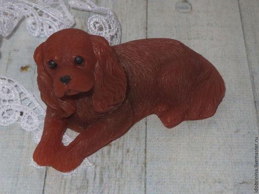 Мыло ручной работы. Ярмарка Мастеров - ручная работа. Купить Мыло. Собака.Спаниель. Handmade. Рыжий, мыло собака