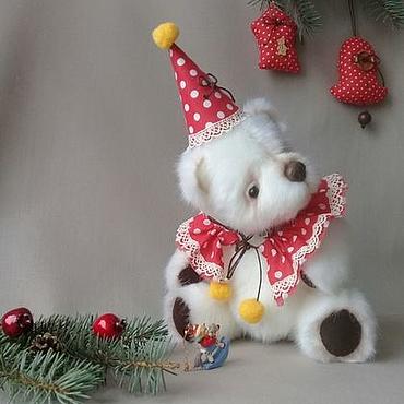 Куклы и игрушки ручной работы. Ярмарка Мастеров - ручная работа Мишка тедди Клоун. Handmade.