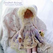 Куклы и игрушки ручной работы. Ярмарка Мастеров - ручная работа Ангелина. Интерьерная текстильная кукла в стиле шебби.. Handmade.