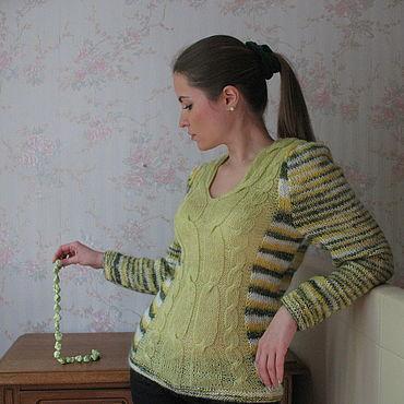 """Одежда ручной работы. Ярмарка Мастеров - ручная работа Кофты: кофта спицами """"Дюшес"""". Handmade."""