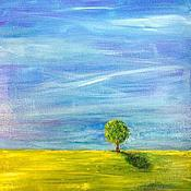"""Картины и панно ручной работы. Ярмарка Мастеров - ручная работа Картина """"Loneliness"""". Handmade."""