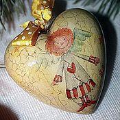 Подарки к праздникам ручной работы. Ярмарка Мастеров - ручная работа Игрушки ёлочные винтажные. Handmade.
