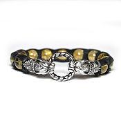 Украшения handmade. Livemaster - original item Citrine decoration. luxury bracelet. Good luck charm. Panthers. Amulet. Handmade.