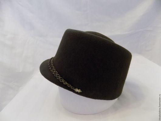 Шляпы ручной работы. Ярмарка Мастеров - ручная работа. Купить Фетровая шляпка. Handmade. Хаки, кепи, ярмарка мастеров