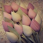 Куклы и игрушки ручной работы. Ярмарка Мастеров - ручная работа Тюльпаны Тильда. Handmade.