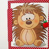 Куклы и игрушки handmade. Livemaster - original item In stock!!! Educational baby book. Handmade.