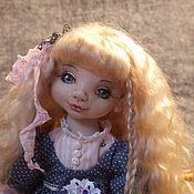 Куклы и игрушки ручной работы. Ярмарка Мастеров - ручная работа Яна. Шарнирная текстильная кукла.. Handmade.