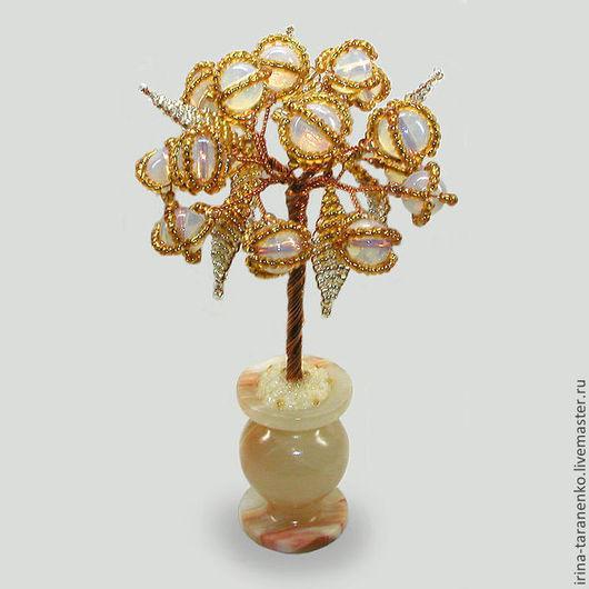"""Миниатюрное дерево из лунного камня """"Дар природы"""""""