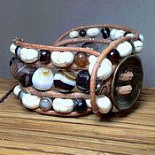 Bead bracelet handmade. Livemaster - original item Stone beaded bracelet. Handmade.