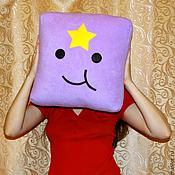Для дома и интерьера ручной работы. Ярмарка Мастеров - ручная работа Adventure Time подушки (пуфики). Handmade.