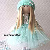 Куклы и игрушки ручной работы. Ярмарка Мастеров - ручная работа Кукла текстильная Николь. Handmade.