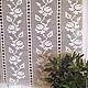 Штора для гостиной штора для кухни красивая штора занавеска крючком занавеска крючком кружевная занавеска текстиль для дома заказать занавеску прованс кантри белый кремовый Занавески купить в Москве