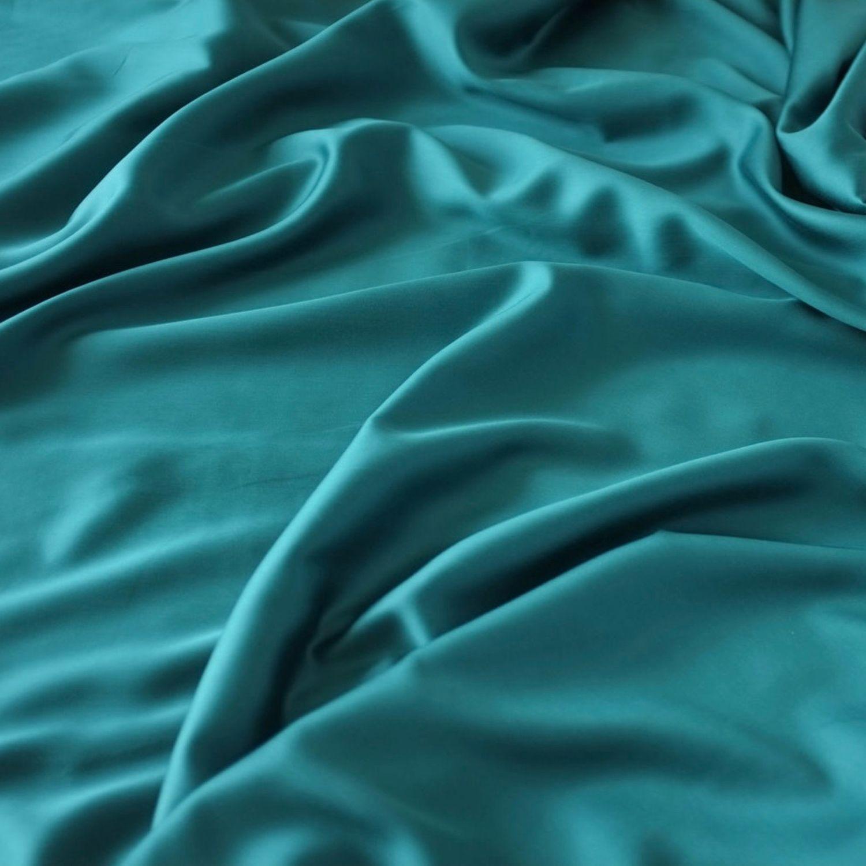 Тенсель. Цвет Изумруд, Ткани, Королев,  Фото №1