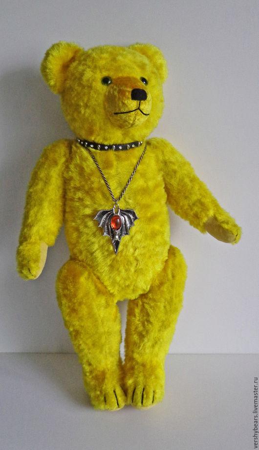 Мишки Тедди ручной работы. Ярмарка Мастеров - ручная работа. Купить мишка  Доротея винтаж. Handmade. Желтый, 70 см